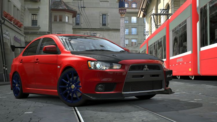 Wallpapers Video Games Gran Turismo 5 Mitsubishi Lancer Evolution X GSR P.P. '07