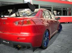 Video Games Mitsubishi Lancer Evolution X GSR P.P. '07