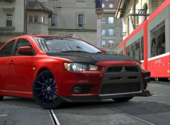 Video Games Mitsubishi Lancer Evolution X GSR P.P. '07