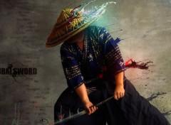 Digital Art Samurai Sword
