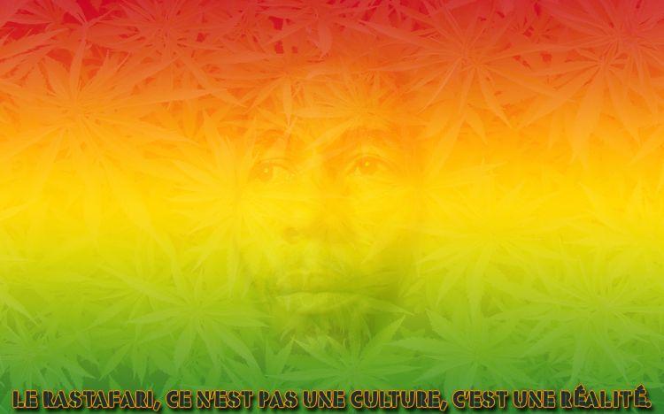 Fonds d'écran Musique Bob Marley Le Rastafari, ce n'est pas une culture, c'est une réalité.