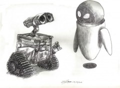 Art - Crayon walleeee et eveeee