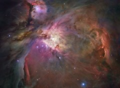 Space La nébuleuse d'Orion