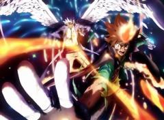 Manga Tsuna vs Byakuran (final battle)!