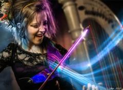 Musique Le pouvoir de l'archet laser