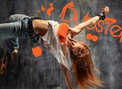 Digital Art DubStep Girl