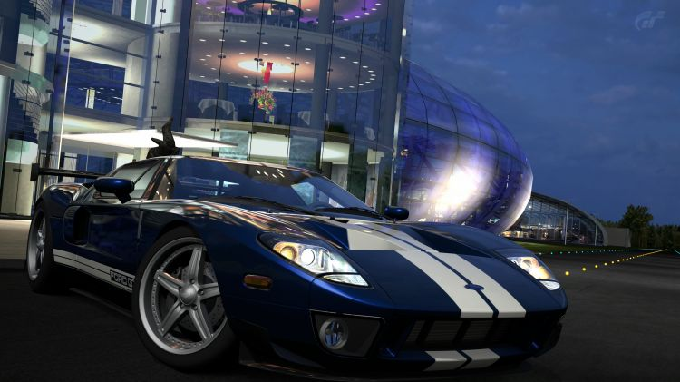 Wallpapers Video Games Gran Turismo 5 Ford GT '06