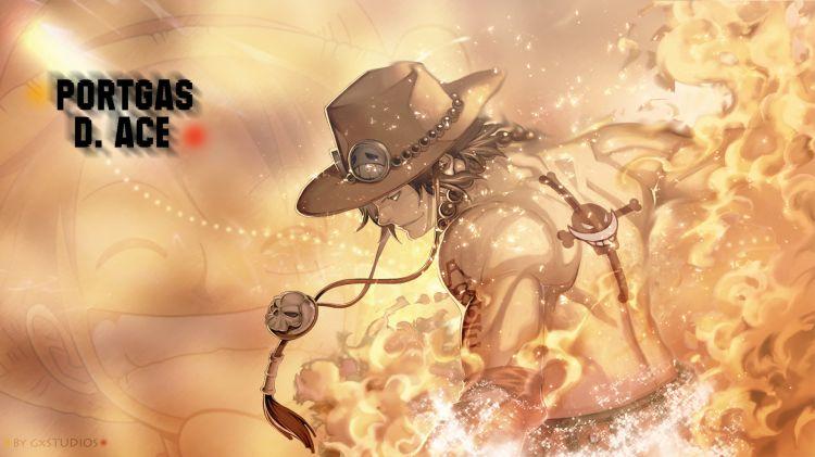 Fonds d'écran Manga One Piece Portgas D. Ace One piece