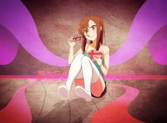 Digital Art Nanami with a gift