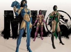 Video Games Kitana, Mileena et Jade