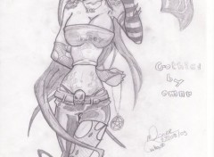 Art - Pencil girl 9