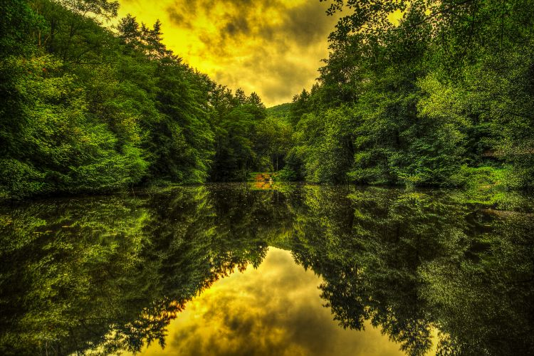 Wallpapers Nature Water - Reflection Golden Hour