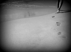 Hommes - Evênements Au bord de la mer, le long de la plage