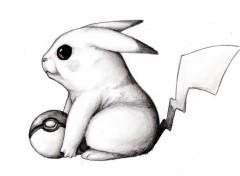 Art - Crayon Encore un p'tit Pikachu..
