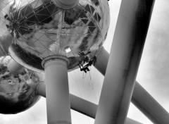 Voyages : Europe Nettoyage de l'Atomium