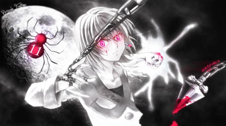 Fonds d'écran Manga Hunter x Hunter Kurapika vs Ubogin