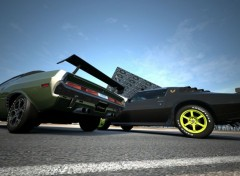 Video Games Dodge Challenger R/T '70 & Pontiac Firedbird Trans Am '78