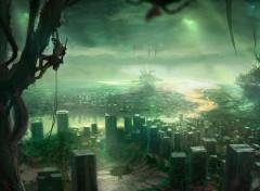 Fantasy et Science Fiction Apocalyptic City