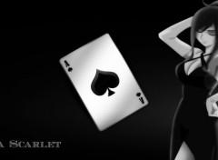 Manga Erza Scarlet - Black & white
