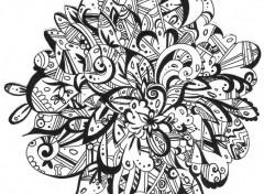Art - Crayon art floral
