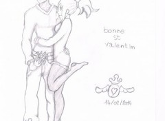 Art - Pencil bonne st valentin