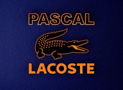 Digital Art Lacoste Personnaliser Pascal