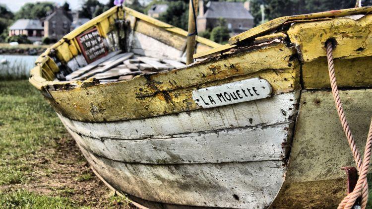 Wallpapers Boats Wrecks La mouette