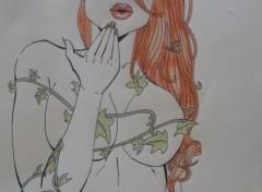 Art - Pencil Femme