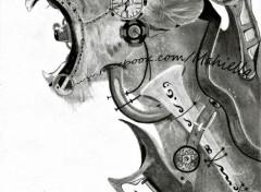 Art - Crayon Steampunk lion