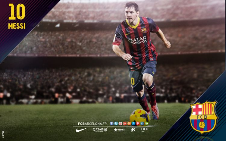 Fonds d'écran Sports - Loisirs FC Barcelone Wallpaper N°371111