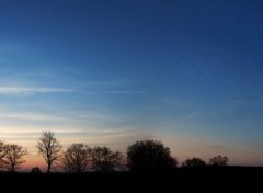 Nature Panorama Sunset