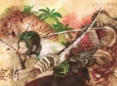 Manga Roronoa zoro santoryu!