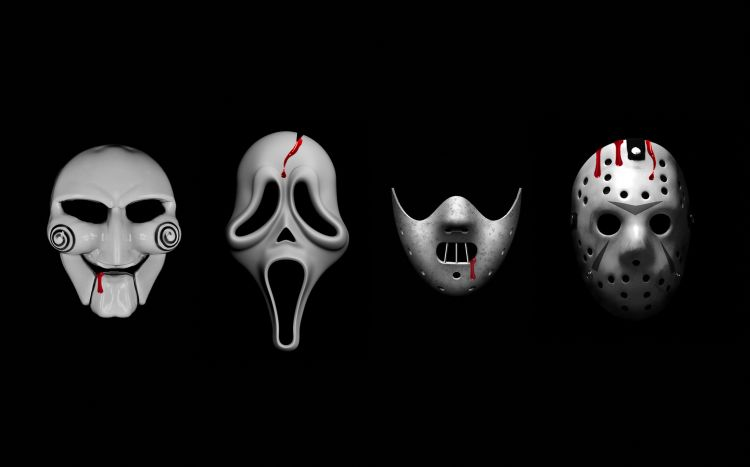 Wallpapers Movies Horror masks movies