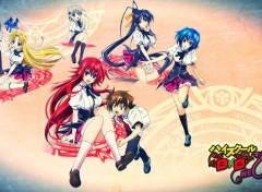 Manga HighSchool DxD