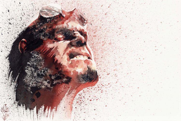 Fonds d'écran Art - Peinture Personnages Hellboy