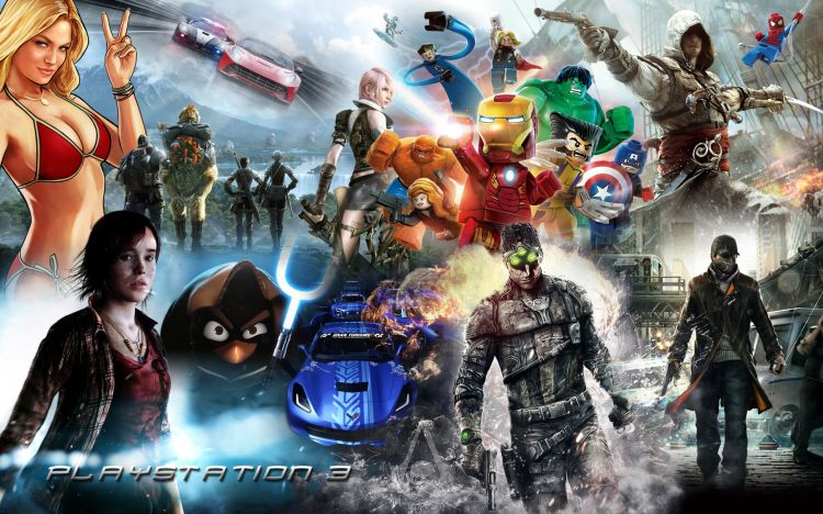 Wallpapers Video Games Playstation 3 Game Play 2013