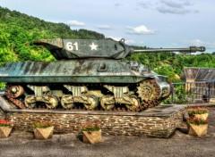 Various transports Tank Sherman M4A1