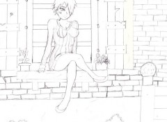 Art - Crayon eva 3 ma création pas fini