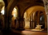Constructions and architecture Crypte de St Eutrope