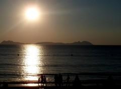 Nature Quand le Soleil caresse la mer