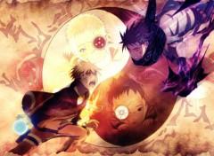 Manga Naruto vs sasuke, l'histoire du destin