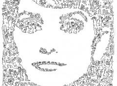 Art - Crayon dessin Penelope cruiz