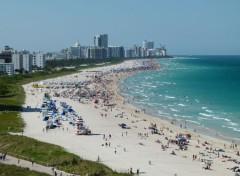 Trips : North America Plage de Miami
