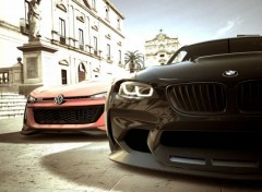 Video Games Volkswagen GTI Roadster Vision Gran Turismo & BMW Vision Gran Turismo