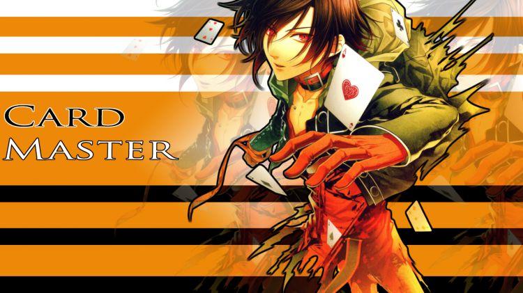 Fonds d'écran Manga Amnesia Card Master