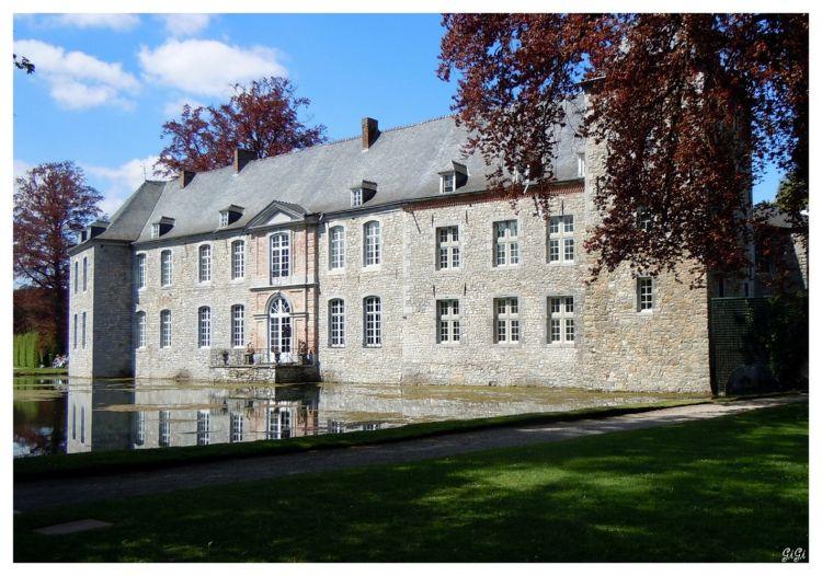 Fonds d 39 cran constructions et architecture fonds d 39 cran ch teaux palais ch teau jardins d for Ecran de jardin belgique