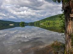 Nature Lac de Greenwood - Maine (USA)