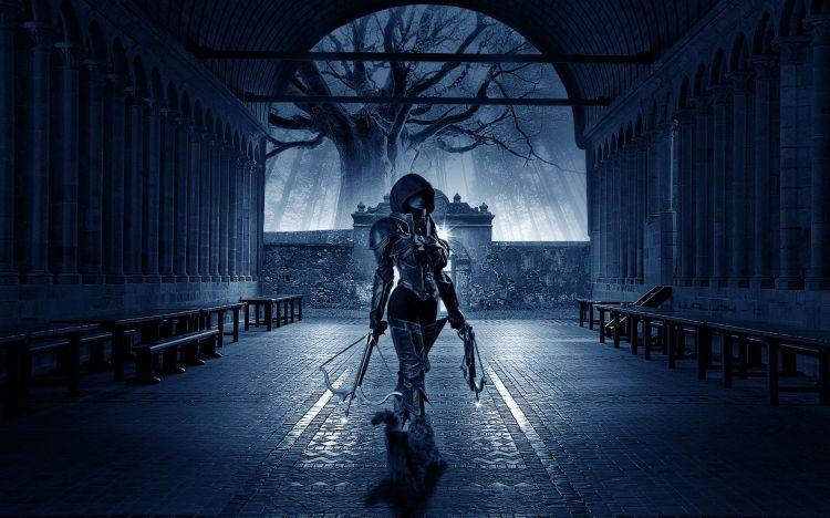Fonds d'écran Fantasy et Science Fiction Guerriers - Guerrières succube