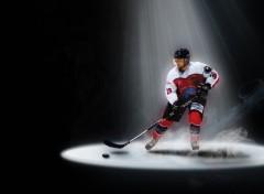 Sports - Loisirs Joueur de hockey diables rouges VA