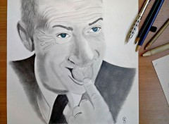 Art - Crayon Louis de Funès